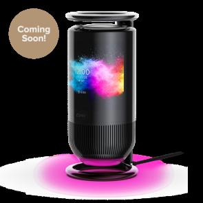 Cleer Audio MIRAGE Smart Display Speaker with Alexa Voice Assistant Black