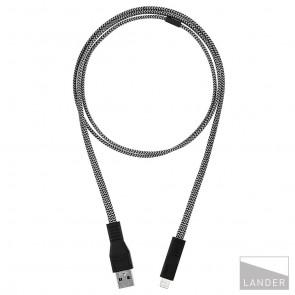 Lander Neve USB to Lightning Cable 1m Black