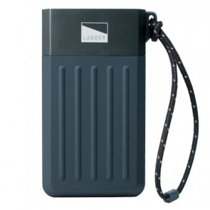 Lander Cascade 7800 mAh Power Bank Black