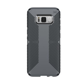 Speck Samsung Galaxy S8 Presidio Grip - Graphite Grey/Charcoal Grey