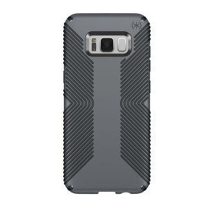 Speck Samsung Galaxy S8+ Presidio Grip Graphite Grey/Charcoal Grey