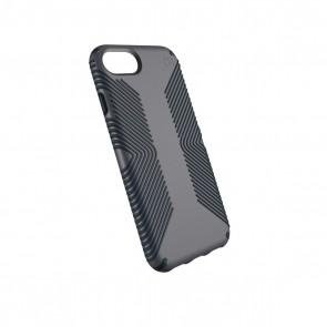 Speck iPhone 8/7/6/6S Presidio Grip - Graphite Grey/Charcoal Grey