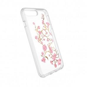 Speck iPhone 8 Plus/7 Plus/6 Plus/6S Plus Presidio Clear + Print - Goldenblossoms Pink/Clear