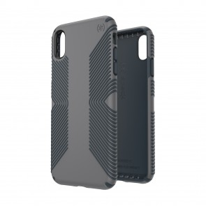 Speck iPhone Xs Max PRESIDIO GRIP GRAPHITE GREY/CHARCOAL GREY