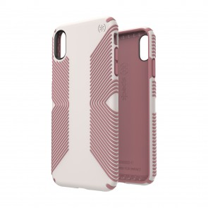 Speck iPhone Xs Max PRESIDIO GRIP VEIL WHITE/LIPLINER PINK
