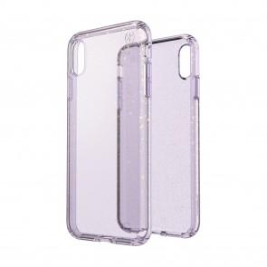 Speck iPhone Xs Max PRESIDIO CLEAR + GLITTER GEODE PURPLE WITH GOLD GLITTER/GEODE PURPLE