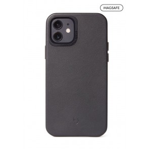 DECODED Leather Backcover - MagSafe iPhone 12 mini (5.4 inch) Black