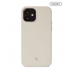Decoded Silicone Backcover with MagSafe for iPhone 12/12Pro Clay