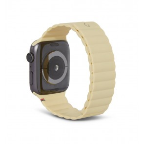 Decoded Silicon Magnetic Traction Strap for Apple Watch Series 1-6/SE 42/44mm Tuscan Sun