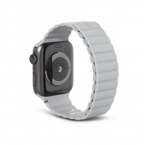 Decoded Silicon Magnetic Traction Strap for Apple Watch Series 1-6/SE 42/44mm Clay