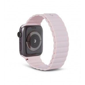 Decoded Silicon Magnetic Traction Strap for Apple Watch Series 1-6/SE 42/44mm Powder Pink