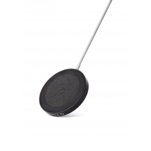 Decoded Magnetic Wireless Charging Puck 15W Black