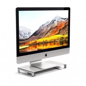 SATECHI Slim Aluminum Monitor Stand Silver