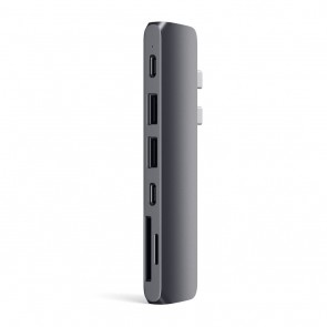 SATECHI TYPE-C PRO HUB WITH 4K HDMI Space Gray