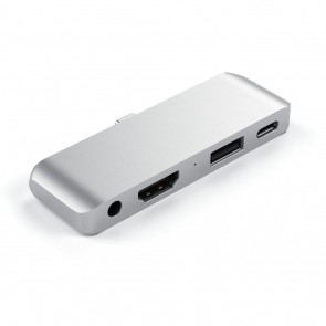 SATECHI TYPE-C Mobile Pro Hub Silver