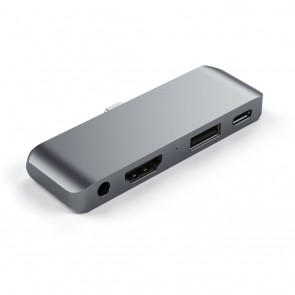 SATECHI TYPE-C Mobile Pro Hub Space Gray
