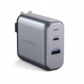SATECHI 30W Dual-Port Wall Charger -US