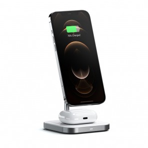 SATECHI Magnetic 2-in-1 Wireless Charging Stand