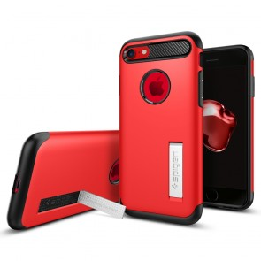 Spigen  iPhone 8/7 Plus Case Slim Armor Crimson Red