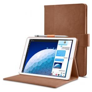 """Spigen iPad Pro 10.5"""" (2017) / iPad Air 3 10.5"""" (2019) Stand Folio Brown"""