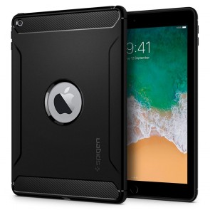 "Spigen iPad 9.7"" Rugged Armor Black"
