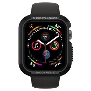 Spigen  Apple Watch 4/5/6/SE  (44 mm) Case Rugged Armor Black