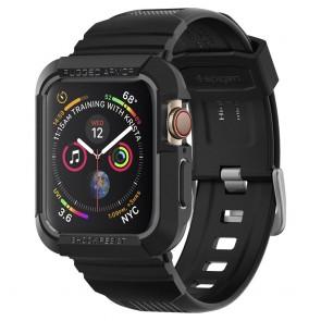 Spigen  Apple Watch 4/5/6/SE  (44 mm) Case Rugged Armor Pro Black