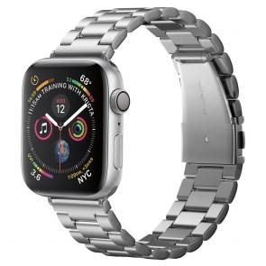 Spigen Apple Watch 4/5/6/SE (44 mm) Watch Band Modern Fit  Silver