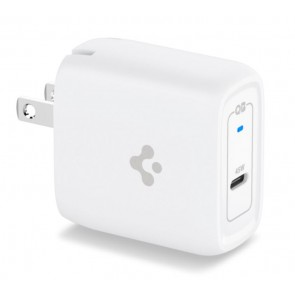 Spigen Universal PE2015UJ P45W Wall Charger Arc Station (GAN) + Cable (Type C to USB) White