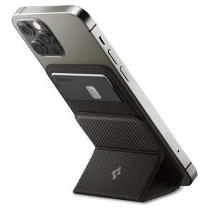 Spigen MagSafe Card Holder Smart Fold Wallet Gunmetal