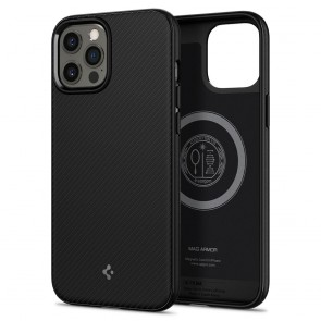 Spigen iPhone 12 Pro Max Core Armor Mag Case Black