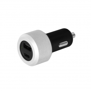 Just Mobile Highway Turbo USB-C (18W) Aluminum Car Charger