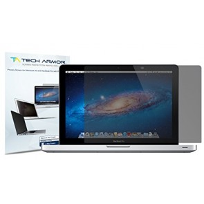 "Tech Armor Apple New Macbook 12"" 2-Way, Privacy Screen Protector - Hassle-Free Lifetime Warranty [1-Pack]"