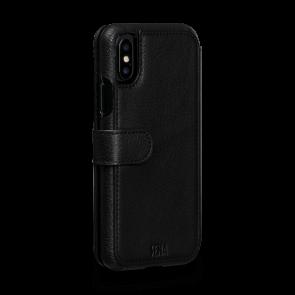Sena iPhone X/Xs Walletbook Classic Black