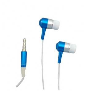 Professional Cable HDPHONE-BL Shredphones Earbuds with Mic, Blue