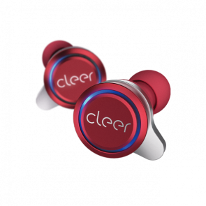 Cleer Audio ALLY True Wireless Headphone Red