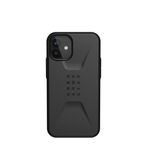 Urban Armor Gear Civilian Case For iPhone 12 mini - Black