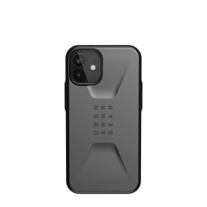 Urban Armor Gear Civilian Case For iPhone 12 mini - Silver