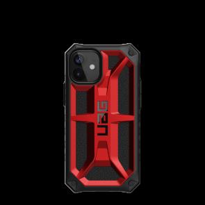 Urban Armor Gear Monarch Case For iPhone 12 mini - Crimson And Black