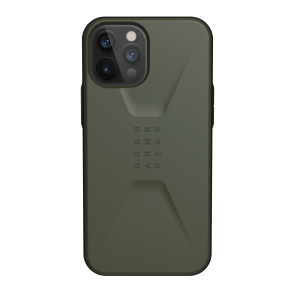 Urban Armor Gear Civilian Case For iPhone 12/iPhone 12 Pro - Olive