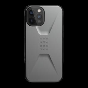 Urban Armor Gear Civilian Case For iPhone 12/iPhone 12 Pro - Silver