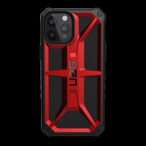 Urban Armor Gear Monarch Case For iPhone 12 Pro Max - Crimson And Black
