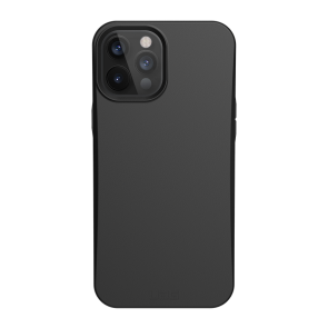 Urban Armor Gear Outback Biodegradable Case For iPhone 12/iPhone 12 Pro - Black