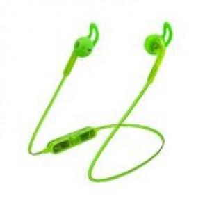 Candywirez Wireless Flat Translucent Ear Buds - Neon Green
