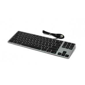 Matias Wired Aluminum Tenkeyless Keyboard for Mac - Space Gray
