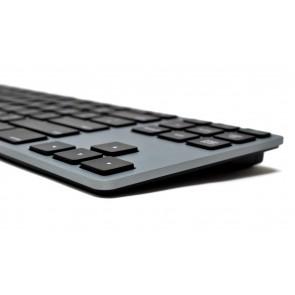Matias RGB Backlit Wired Aluminum Tenkeyless Keyboard for Mac - Space Gray