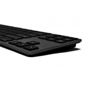 Matias RGB Backlit Wired Aluminum Tenkeyless Keyboard for PC - Black