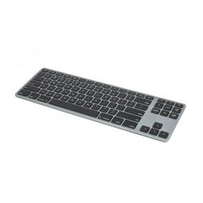 Matias Wireless Aluminum Tenkeyless Keyboard - Space Gray