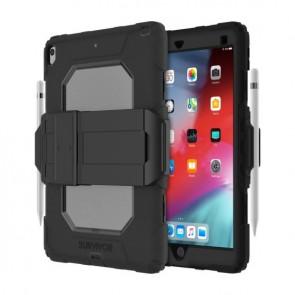 Griffin Survivor All-Terrain (w/ kickstand) for iPad Air 3 10.5 - Black/Smoke