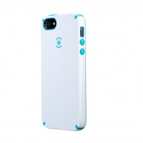 Speck iPhone 5/5s CandyShell White/Peacock Blue
